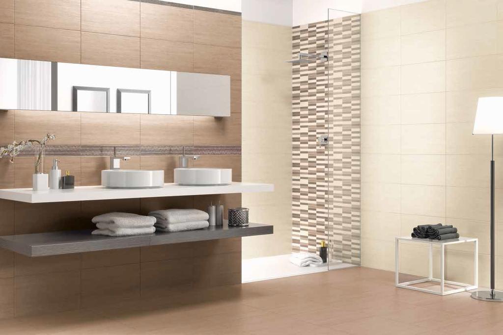 Hezká koupelna Naxos Clio Sand & Beige