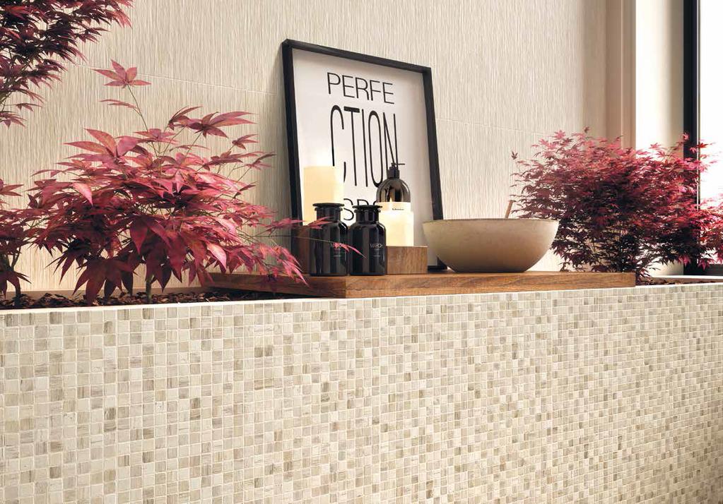 Mozaiky v koupelnách i kuchyních Naxos Fiber Raphia & Spaccatela Raphia