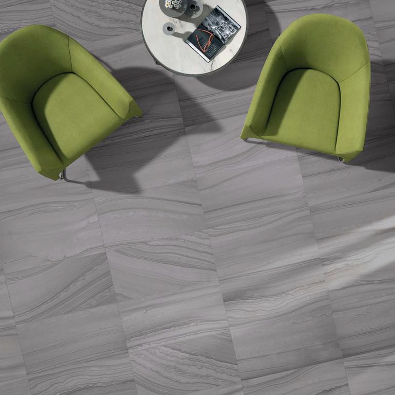 Proměnlivá slinutá dlažba ABK Re-Work Single 2 Grey