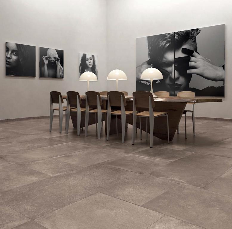Dlažba v jídelně ABK Unika Bronze & Bronze Mix Floor