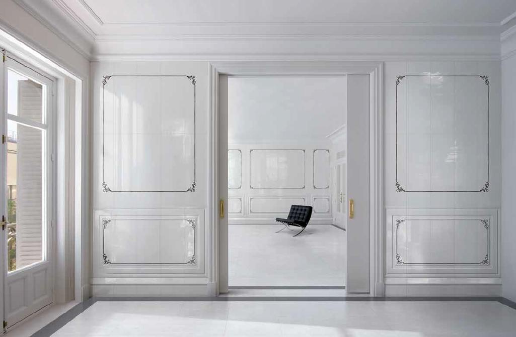 Klasická luxusní koupelna Settecento Ermitage Angolo & Fascia Classic White
