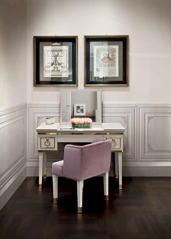 Zámecké obklady Settecento Ermitage Angolo B & Boiserie Classic Avorio