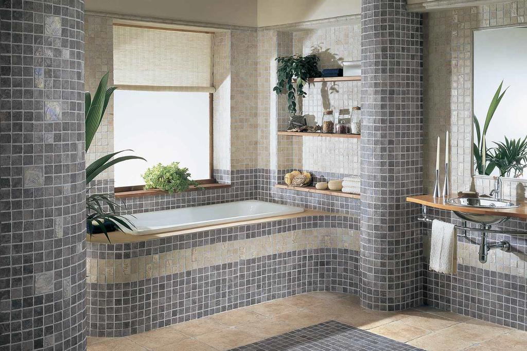 Mozaiková koupelna Settecento Maya Azteca Color Mix
