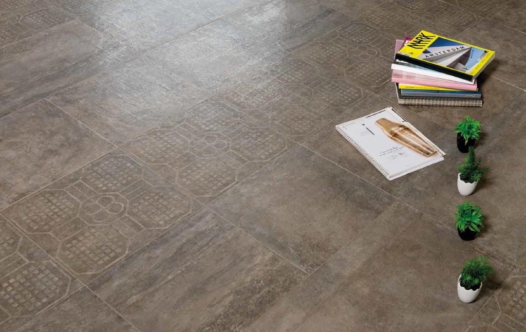 Dlažba odbedněný beton Eco Ceramica Beton Bronzo