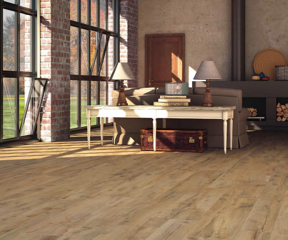 Dlažba nebo dřevo Castelvetro Woodland Oak