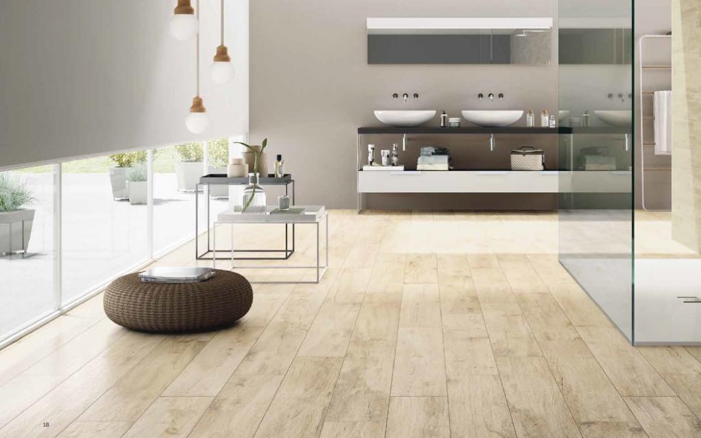 Dlažba interiér imitace dřevo Castelvetro Woodland Almond