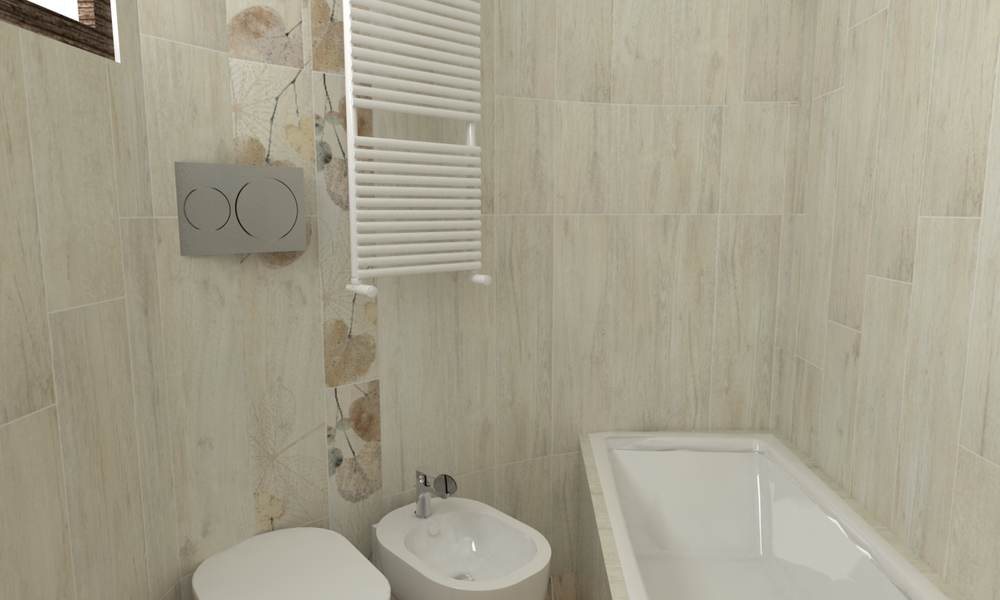Rekonstrukce panelákové koupelny fotogalerie inspirace Del Conca  FI Foreste D'Italia  FI 10