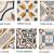Obklady a dlažba Art Nouveau dekory
