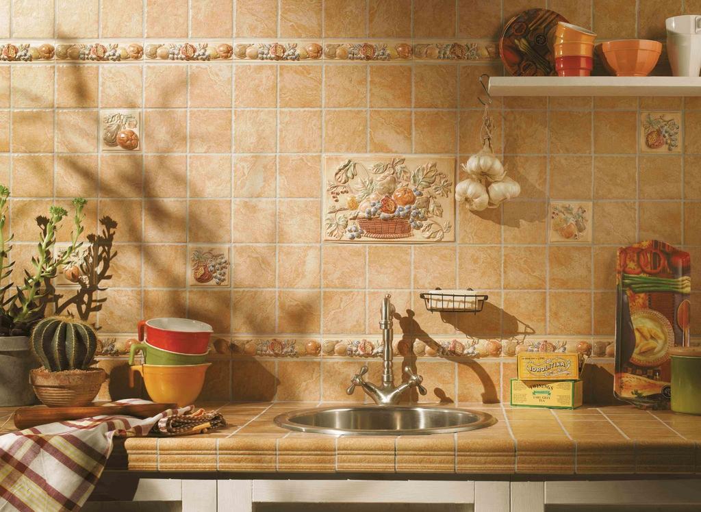 Obklad Do Kuchyně Inspirace V Retro Stylu